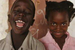 smiles in africa