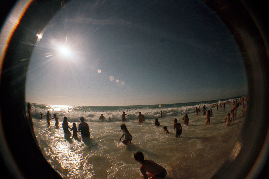 Atlantic Ocean Fisheye - original